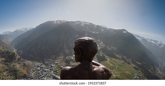 Roc del Quer view point in Andorra