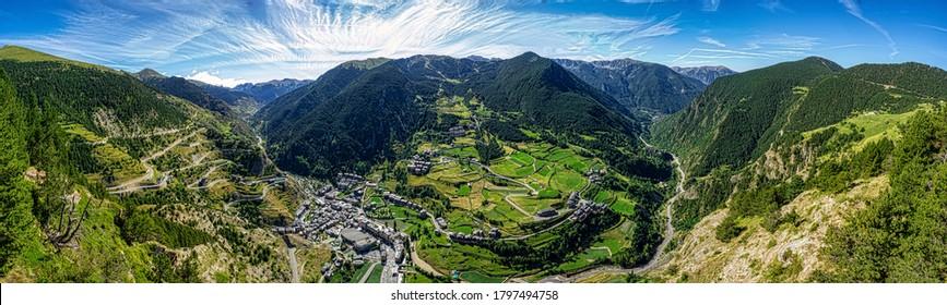 Roc del Quer viewpoint at Andorra