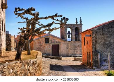 Rocamador church in Castelo Rodrigo, Portugal