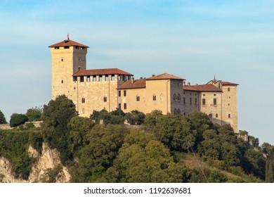 Rocca borromea of angera