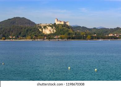 Rocca di Angera, on Lake Maggiore, Italy