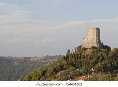 Rocca d'Orcia. Locality: Castiglione d'Orcia (SI), Italy.