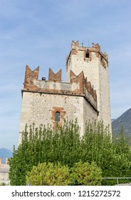 Rocca Scaligera  in Malcesine in Italy