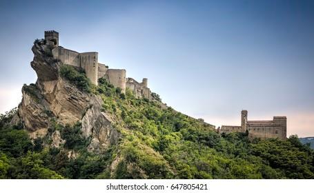 Roccascalegna Castle, Roccascalegna, Abruzzo, Italy
