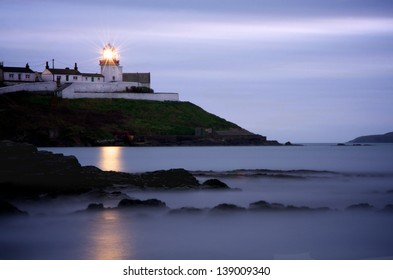 Roches Point Lighthouse at Dusk