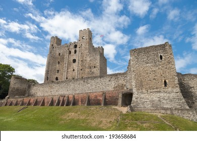 Rochester Castle in Kent, England