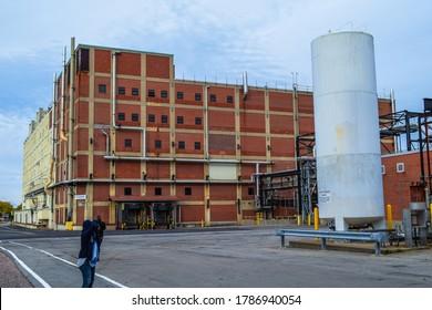 Rochester, NY - 11 03 2017: A building unit at Eastman Kodak Business Park