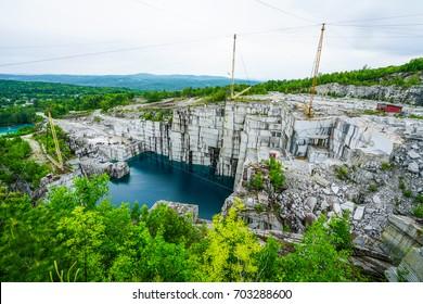 Rock of Ages, vermont, Granite Quarry