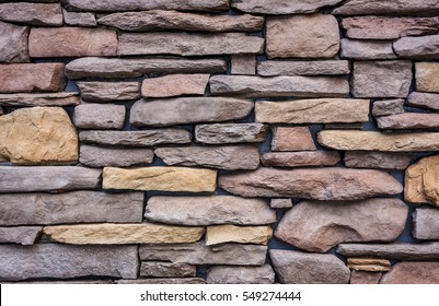 Rock brick wall for background