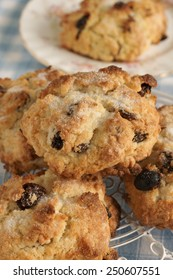Rock Cakes light crumbly cakes filled with dried fruit