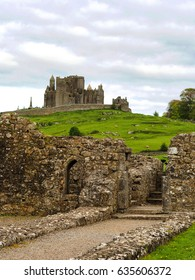 ROCK OF CASHEL, IRELAND - A beautiful hilltop fort which was the traditional seat of the kings of Munster and has a remarkable collections of Celtic art and medieval architecture.