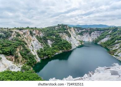 Rock cliff,Mountains,Thailand.