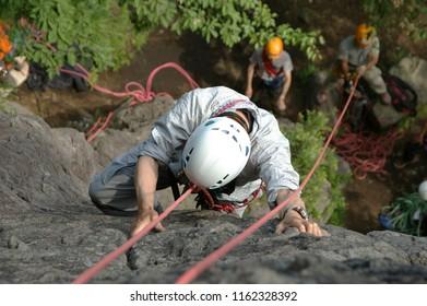 The Rock Climbing