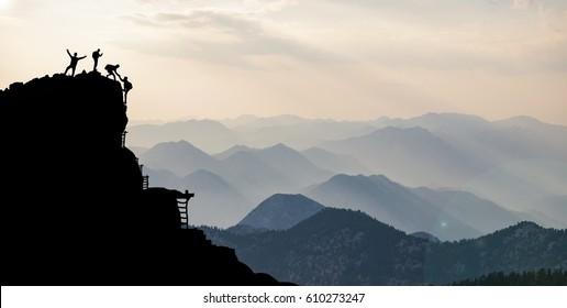 rock climbing climber achievement