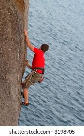 Rock climbing, South Australia