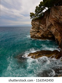 Rock Coast in Montenegro