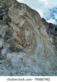 Rock folds  Yellowstone National Park