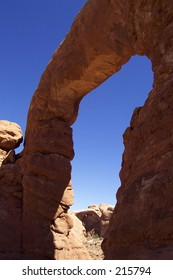 Rock formation at Arches National Park, UItah