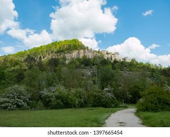 Rock formation in the Franconian Switzerland