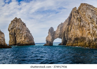The Rock Formation of Land's End, Baja California Sur, Mexico, near Cabo San Lucas