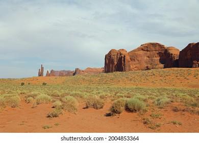 Felsenbildung im Monument Valley in Arizona. USA