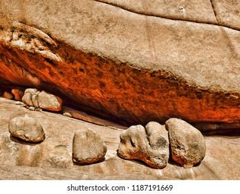 Rock Formation, Spitzkoppe, Namibia