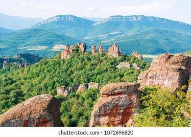 Rock formations in Belogradchik (Bulgaria)