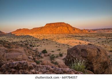 Rock formations at Damaraland, Namibia, Africa
