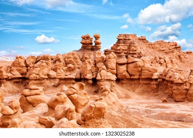 Rock formations in Goblin Valley State Park, Utah, United States