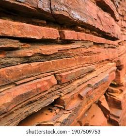 Rock formations Karijini National Park, Pilbara, Hamersley Ranges