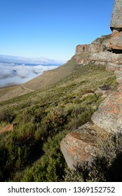 Rock formations at Karoo National Park, Beaufort West, South Africa