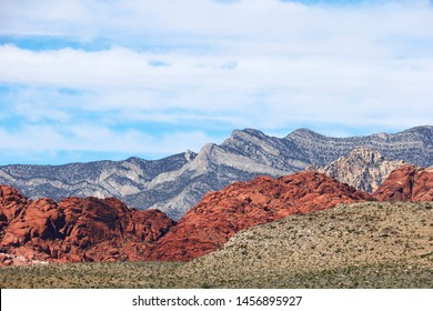 Rock Formations in Red Rock Canyon Conservation Area, Nevada, United States of America