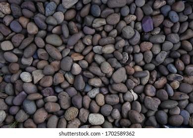 Rock garden pattern texture background