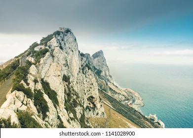 Rock of Gibraltar from the summit