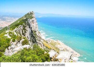 rock of gibraltar, upper rock nature reserve