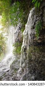 Rock Island TN Cold Hole Waterfalls