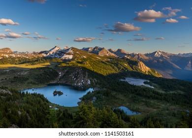 Rock Isle Lake, Sunshine Meadows, Banff National Park, AB & Mount Assiniboine Provincial Park, BC, Canada