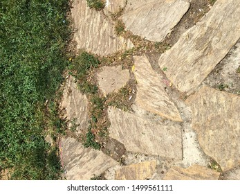 the rock isolate background or pattern