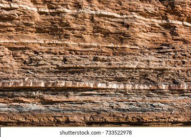 Rock layers texture