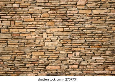 A rock and mortar wall suitable for background or details