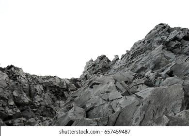 Rock mountain.