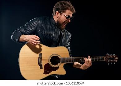 rock musician, guitar