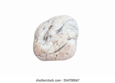 rock on white background