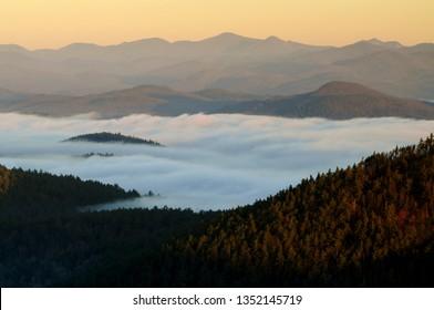Rock Pond Mt View, Pharoah Lake Wilderness Area, Adirondack Forest Preserve, New York