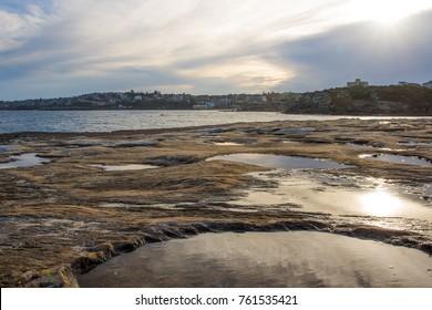 Rock pools at Clovelly Beach, Sydney, 2017