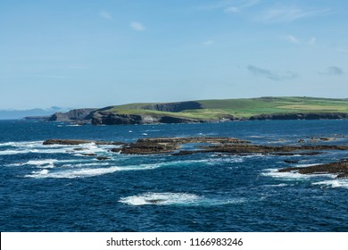 Rock pools Kilkee County Clare Ireland,August 2018