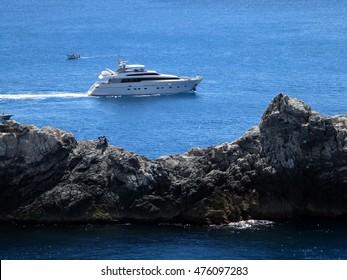 rock promontory of Portovenere, Liguria, italy