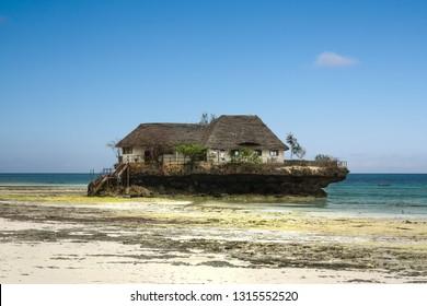 Rock Restaurant at Michanwi Pingwe Beach, Zanzibar, Tanzania
