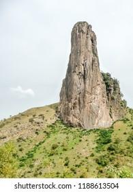 the rock of Rhumsiki, Cameroon.