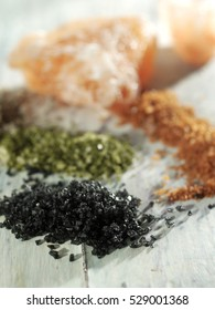 rock salt and spices